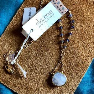 ❤️NWT Gorgeous delicate Ela Rae Moonstone Necklace